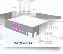 Tilt-up project software for contractors